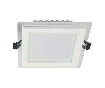Встраиваемый светодиодный светильник Lumina Deco Beneto LDC 8097-SQ-GL-9WSMD-D120 WT
