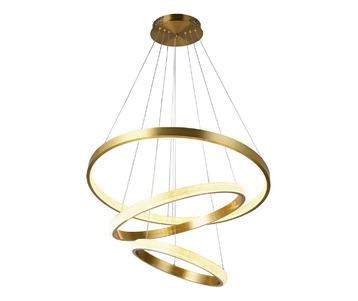 Подвесной светодиодный светильник Kink Light Селена 7663,33