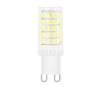 Лампа светодиодная Gauss G9 5,5W 6500K прозрачная 107009306