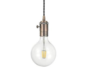 Подвесной светильник Ideal Lux Doc SP1 Rame Antico 163123