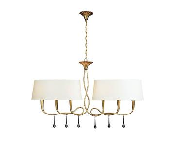 Подвесной светильник Mantra Paola Painted Gold 3541