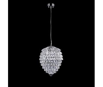 Подвесной светильник Crystal Lux Charme SP4 Chrome/Transparent