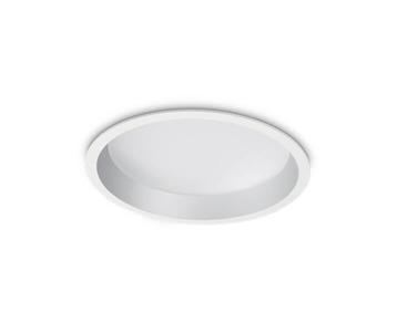 Встраиваемый светодиодный светильник Ideal Lux Deep 30W 3000K 248783
