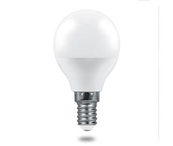 Лампа светодиодная Feron E14 9W 2700K Матовая LB-1409 38077