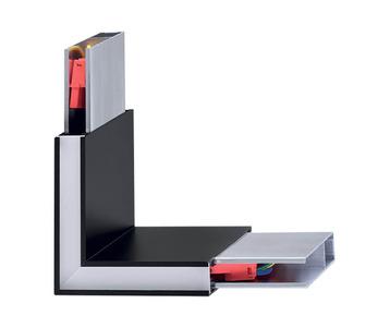 Соединитель угловой Ideal Lux Linus Linus Corner BK 242002