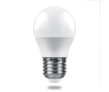 Лампа светодиодная Feron E27 6W 2700K Матовая LB-1406 38068