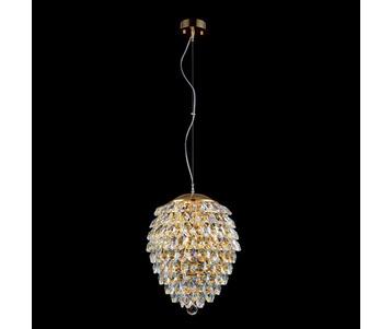 Подвесной светильник Crystal Lux Charme SP6 Gold/Transparent