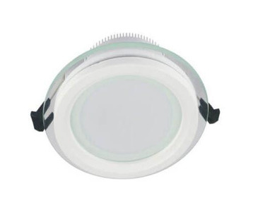 Встраиваемый светодиодный светильник Lumina Deco Saleto LDC 8097-ROUND-GL-6WSMD-D100 WT