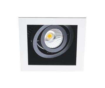 Встраиваемый светодиодный светильник Italline DL 3014 white/black