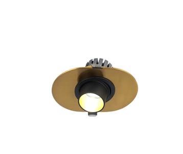 Встраиваемый светодиодный светильник Favourite Retro 2790-1C