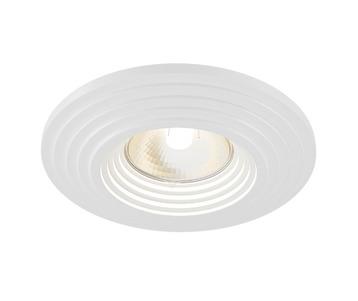 Встраиваемый светильник Maytoni Gyps DL004-1-01-W