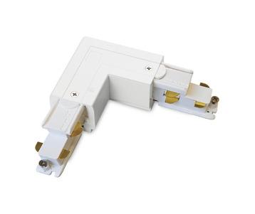 Коннектор L-образный левый Ideal Lux Link Trimless L-Connector Left WH Dali 246604