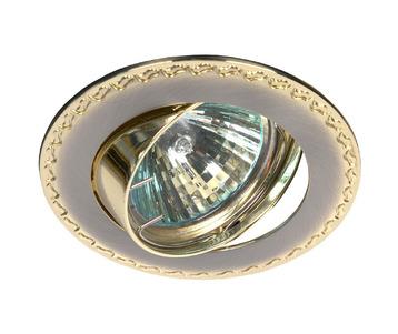 Встраиваемый светильник ЭРА Литой KL23А SN/G C0043715