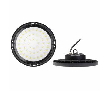 Подвесной светодиодный светильник Uniel ULY-U34C-200W/6500K IP65 Black UL-00006873