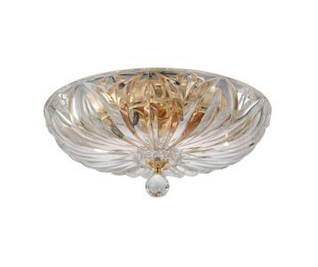 Потолочный светильник Crystal Lux Denis D400 gold