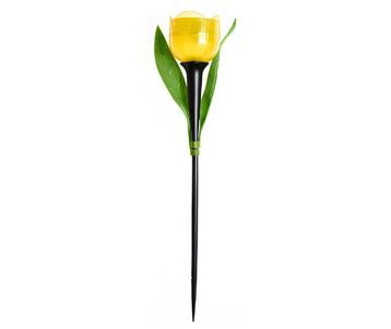 Светильник на солнечных батареях Uniel Promo USL-C-452/PT305 Yellow Tulip UL-00004277